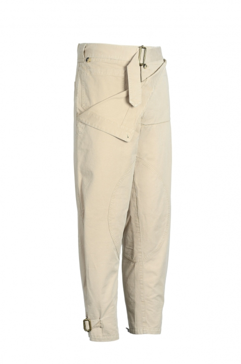 J.W.ANDERSON Front Fold Army Trousers 1