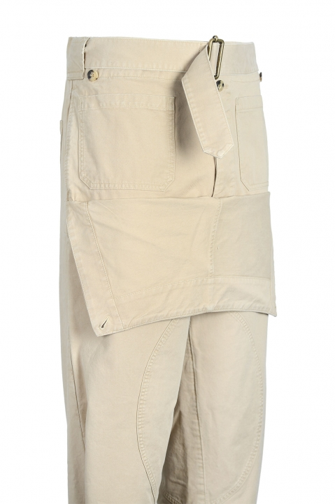 J.W.ANDERSON Front Fold Army Trousers 4