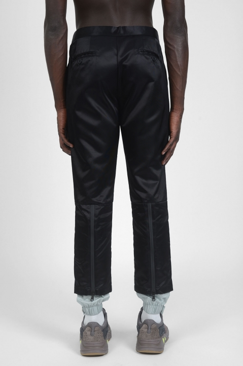 PALM ANGELS New Classic Black/Grey Trousers 1