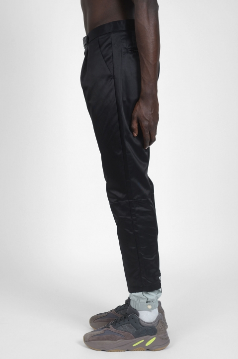 PALM ANGELS New Classic Black/Grey Trousers 2