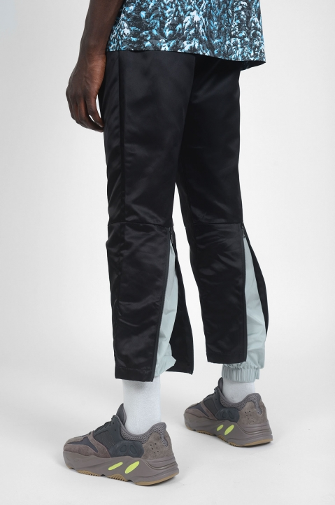 PALM ANGELS New Classic Black/Grey Trousers 3