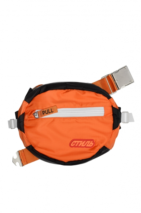 HERON PRESTON Orange Hip Bag 0