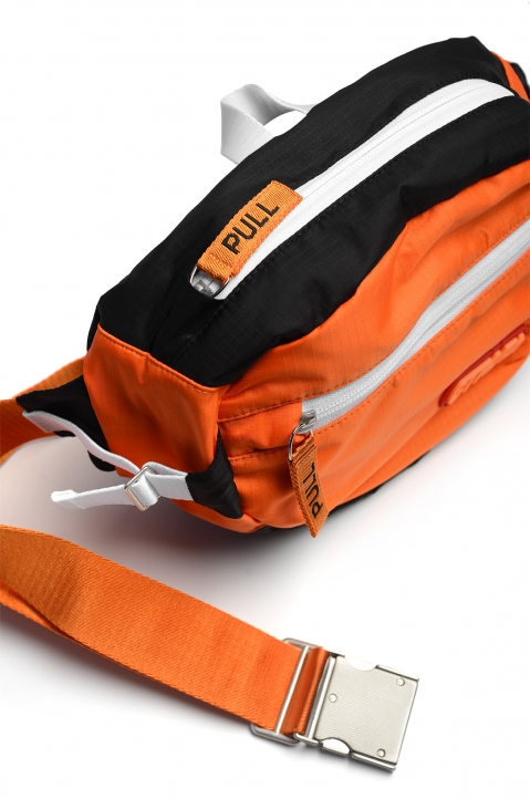 HERON PRESTON Orange Hip Bag 1