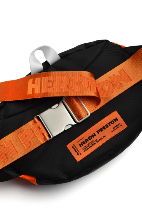 HERON PRESTON Orange Hip Bag 2