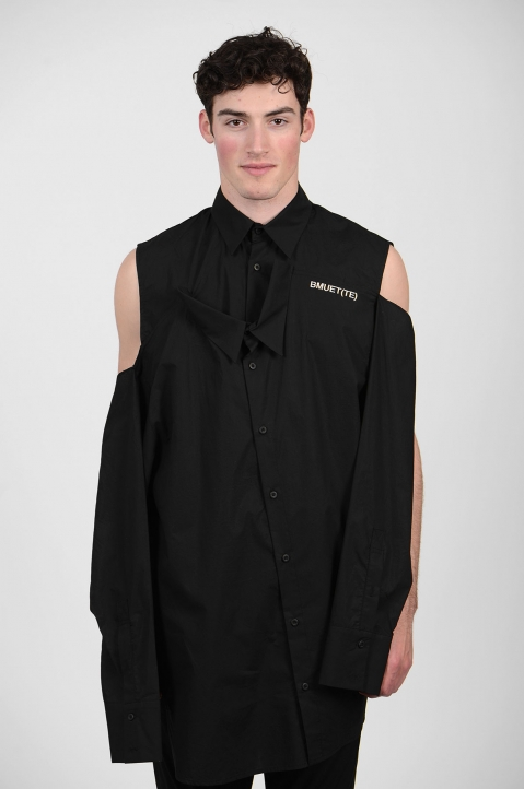 BMUET(TE) Double Layer Black Shirt 1