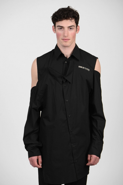 BMUET(TE) Double Layer Black Shirt 3