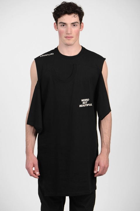BMUET(TE) Double Layer Black T-shirt 1