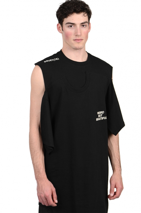 BMUET(TE) Double Layer Black T-shirt 0