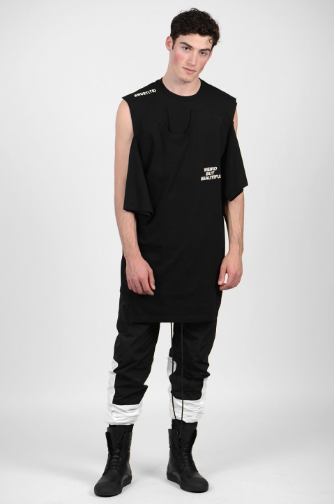 BMUET(TE) Double Layer Black T-shirt 4