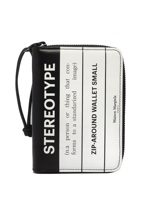 MAISON MARGIELA Stereotype Zip-Around Wallet 0