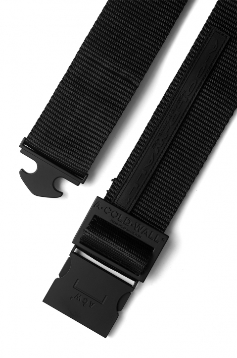 A-COLD-WALL Black Webbing Belt 2