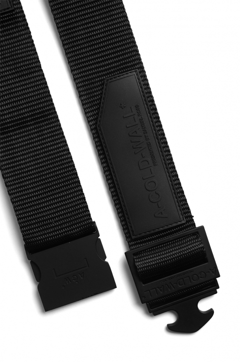 A-COLD-WALL Black Webbing Belt 3