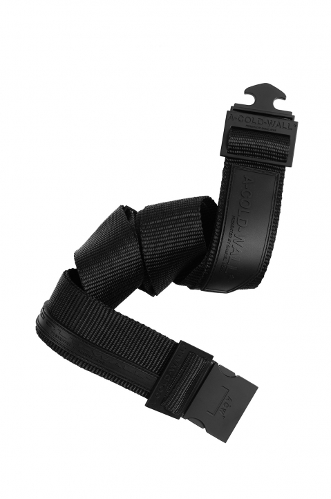 A-COLD-WALL Black Webbing Belt 0
