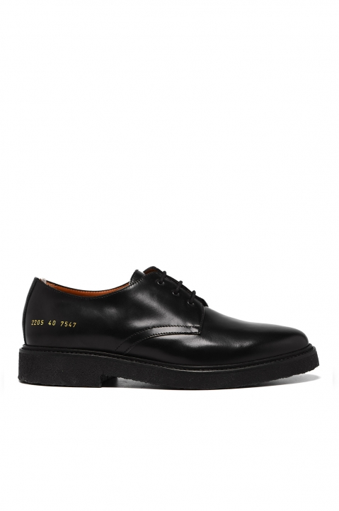 COMMON PROJECTS Black Cadet Derby Shoes 0