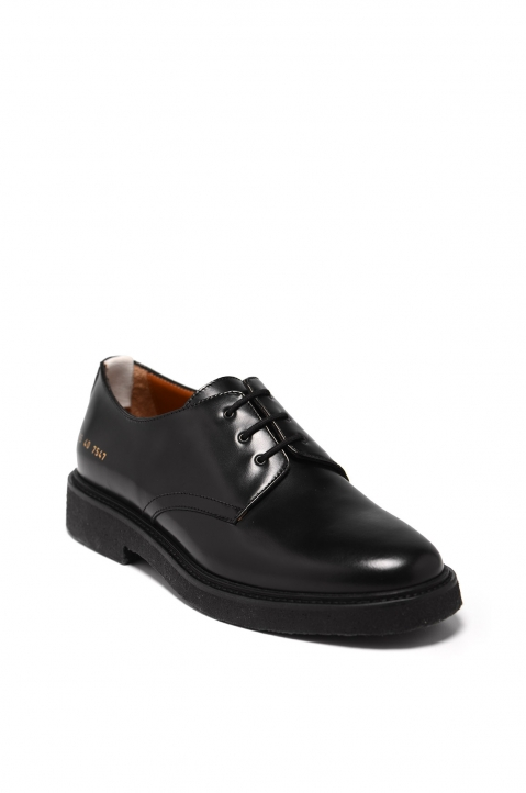 COMMON PROJECTS Black Cadet Derby Shoes 1
