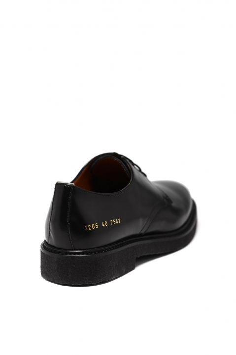 COMMON PROJECTS Black Cadet Derby Shoes 2