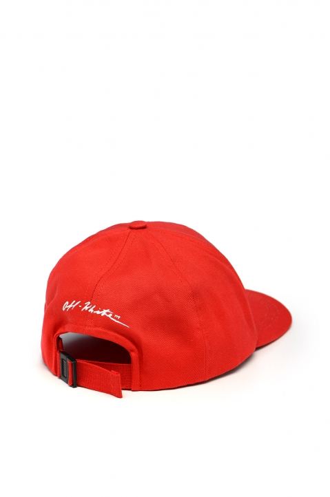 OFF-WHITE Monalisa Red Cap 1